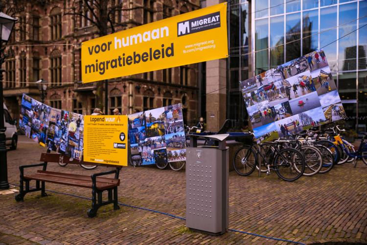 Lopend Vuur manifestatie, Plein Den Haag